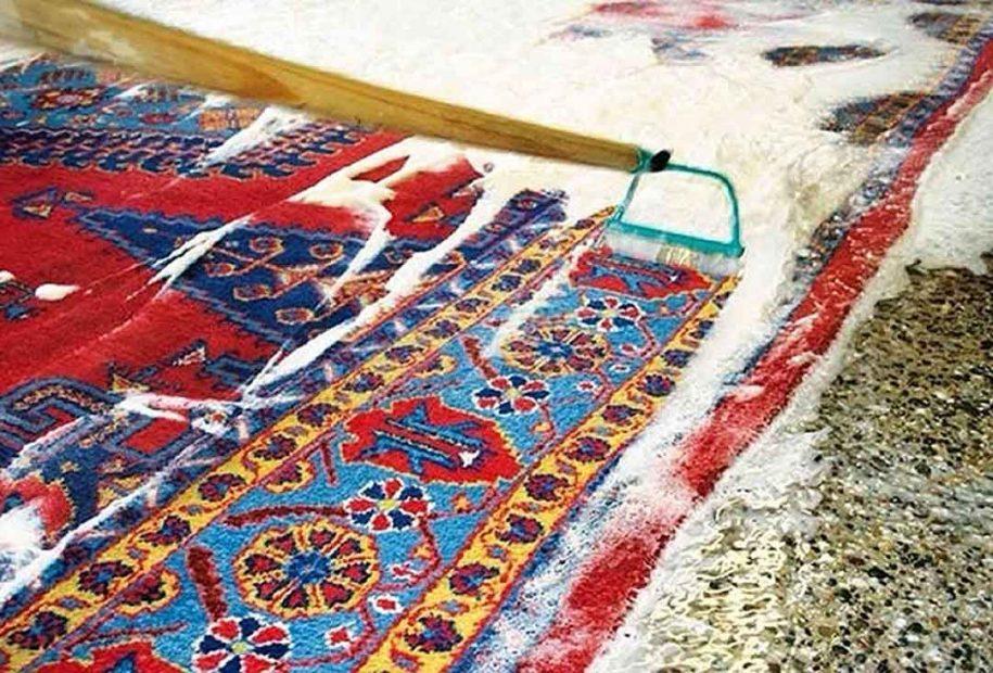 قالیشویی در اختیاریه