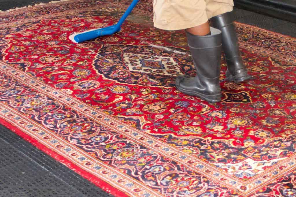 قالیشویی در صادقیه