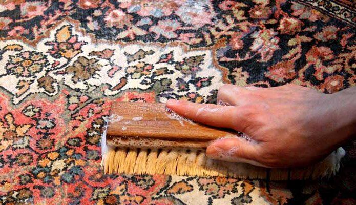 قالیشویی در فرشته