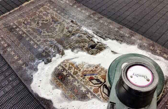 قالیشویی در زعفرانیه
