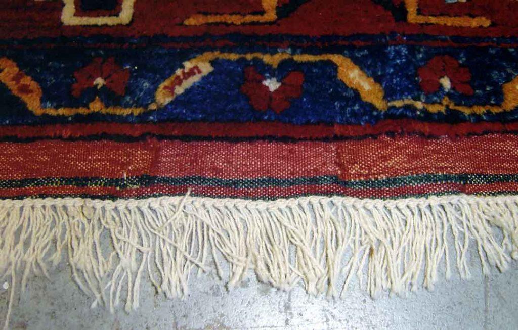 ترمیم پارگی فرش دستبافت