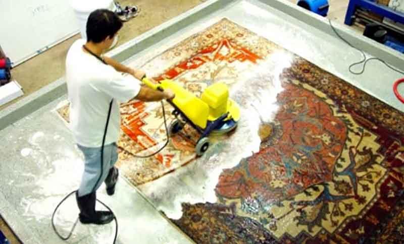 قالیشویی در لویزان