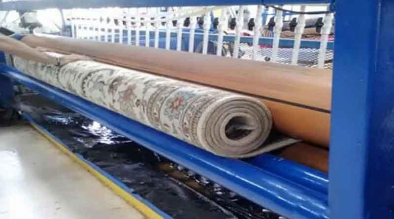 قالیشویی در اقدسیه
