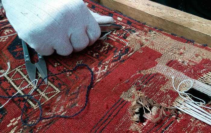 رفع سوختگی فرش در منزل