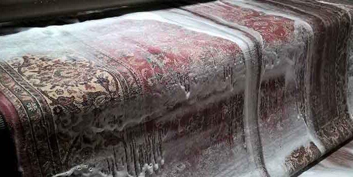 قالیشویی در داودیه
