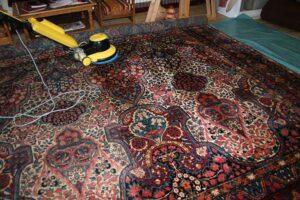 قالیشویی در الهیه