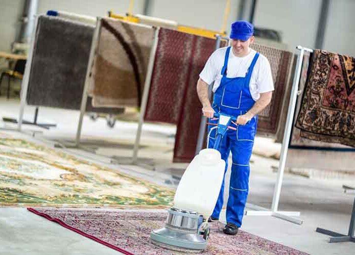 قالیشویی در فرحزاد