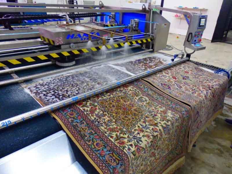 قالیشویی در محمودیه