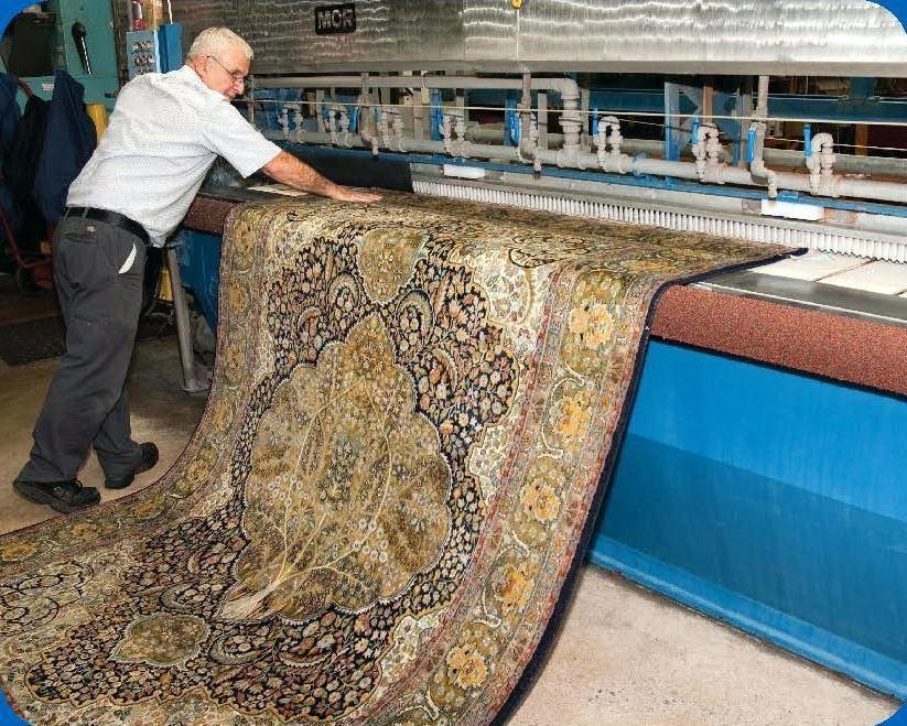 قالیشویی در سوهانک