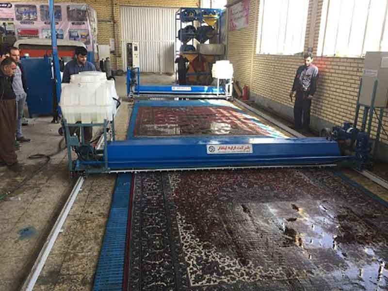 قالیشویی در سرخه حصار