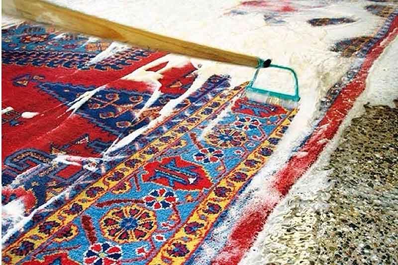 قالیشویی در شهرک ویلایی زیتون