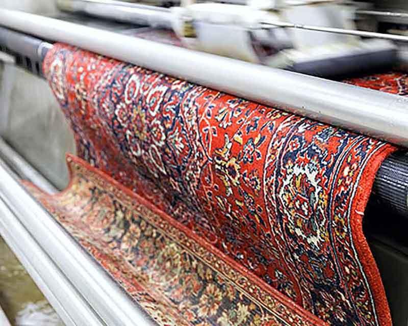 قالیشویی در شمس آباد
