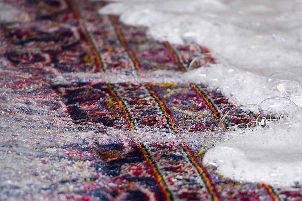قالیشویی در جنوب تهران