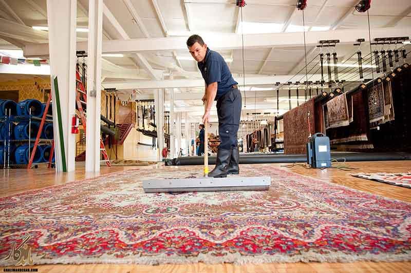قالیشویی در حکیمیه